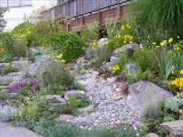 making a dry creek bed garden youtube