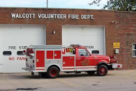 volunteer fire station floor plans city of walcott fire department