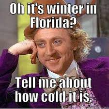 Florida Winter Meme - florida winter quickmeme