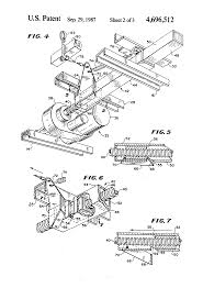 Motorized Recliner Patent Us4696512 Motorized Recliner Chair With Release Mechanism