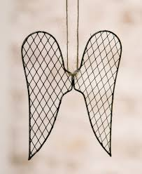 wire wings ornament craft house designs