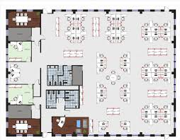 Warehouse Floor Plan Template New 60 Office Space Layout Design Decorating Inspiration Of