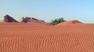 4k aerial view of endless sand dunes of the namib desert inside