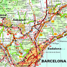 Pais Vasco Map Cataluña Catalunya Aragón Andorra Regional Map 574 Michelin