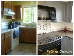 Update Oak Kitchen Cabinets 133 Best Before U0026 After Images On Pinterest Foursquare House