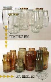 Diy Recycled Home Decor Diy Turn All Your Recycled Jars Into Gorgeous Fall Decor Easy