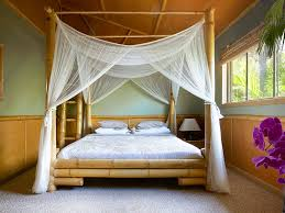 bamboo king size canopy bed frame get luxurious king size canopy