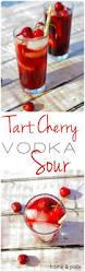 apple martini with cherry tart cherry vodka sour u2014 home u0026 plate easy seasonal recipes