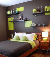 bedroom accent wall small accent wall shelves