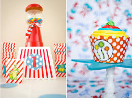 1st birthday party ideas for kara s party ideas dr seuss boy girl cat in the hat 1st birthday