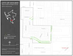 State Plane Coordinate System Map by Landscape Maintenance Districts U2013 Westwind U2014 City Of Oxnard