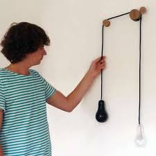 pulley lighting systems completing absence lamp