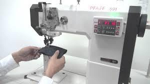 pfaff sewing machine manual pfaff 591 with hohsing servo motor i70x control unit youtube