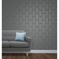 rustic brick wallpaper metallic wallpaper b u0026m