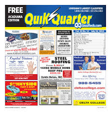 quik quarter acadiana july 23 2015 by part of the usa today