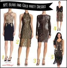 gold dresses for new years stylish black and gold party dresses to ring in the new year