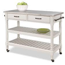 Kitchen Island Casters Modern Kitchen Island Storage Cart Dining Portable Wheels Bar