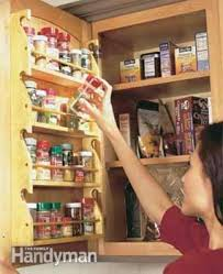 Door Mounted Spice Rack Kitchen Storage Projects That Create More Space Family Handyman