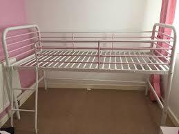 next powder pink and white metal midi sleeper in newcastle under