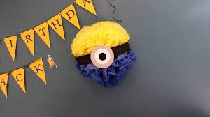 Minion Birthday Decorations How To Minion Decoration And Ideas Youtube