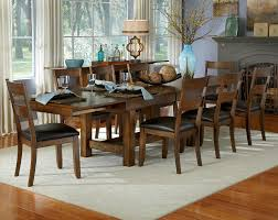 9 Piece Dining Room Set Gavin Rustic Formal Dining Room Set Fine Dining Furniture Rustic