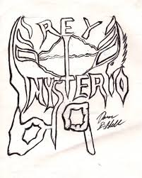 rey mysterio tattoo by aaron8385 on deviantart