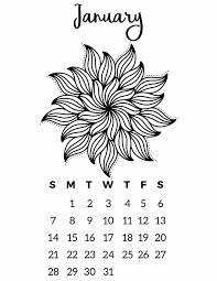 free printable 2018 calendar mandala coloring pages slap dash mom
