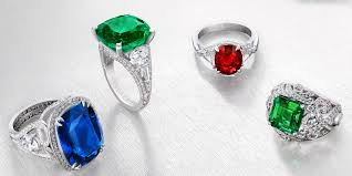 coloured rings jewelry images Three colours of love collection gemstone jewellery faberg com jpg