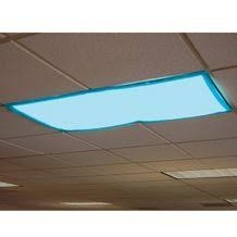 Fluorescent Ceiling Light Covers Fluffy Clouds Overhead Light Cover Turn Fluorescent Lights Into