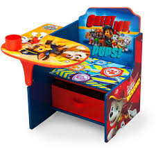 Kids Study Desk by Delta Children Nick Jr Paw Patrol Chair Desk With Storage Bin