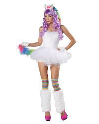 unicorn costume set 4 piece for halloween horror shop com