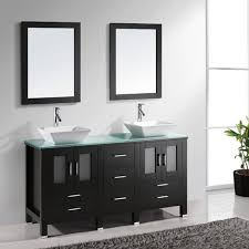 44 Inch Bathroom Vanity Virtu Usa Bradford 60 Inch Double Sink Bathroom Vanity Set With