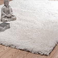 tappeto a pelo lungo tappeto ecru in tessuto a pelo lungo 140 x 200 cm maisons du monde