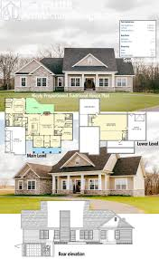 Floor Plans With Basement by Best 25 Basement House Plans Ideas Only On Pinterest House