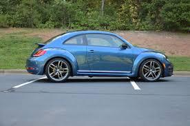 volkswagen beetle 2017 blue vwvortex com my 2017 sel coupe silk blue titan black