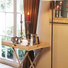 caracas butlers tray table oak wood flamant