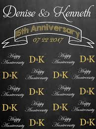 wedding anniversary backdrop wedding ideas personalized wedding photo booth backdrop diy for