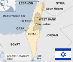 Current Map Of Middle East by Israel Country Profile Bbc News