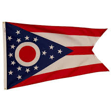 Ohio State Home Decor Valley Forge Flag 3 Ft X 5 Ft Nylon Ohio State Flag Oh3 The