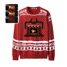 crackling fireplace christmas jumper the fireplace gallery