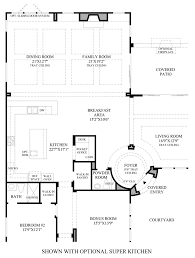 los altos the verano nv home design optional super kitchen floor plan