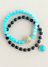 evil eye bead bracelet images Best 145 0 evil eye images evil eye crocheting jpg