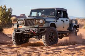 jeep chief a romp off road in the jeep crew chief concept the drive