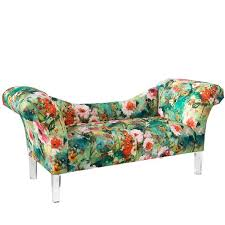 Floral Chaise Pretty Watercolor Floral Home Products Today Com