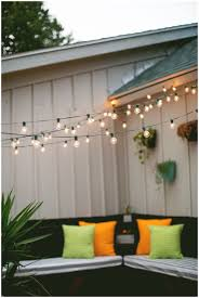 Hanging String Lights by Backyards Terrific Hanging Lights In Backyard String Lights In