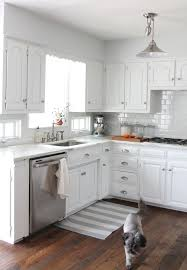 white and gray kitchen ideas small kitchens with white cabinets hbe kitchen