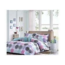 Purple And Teal Bedding Amazon Com 1 X Full Queen Reversible Comforter Set Pink Teal