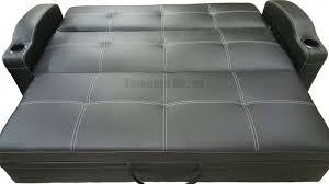 easton black adjustable sofa bed futon