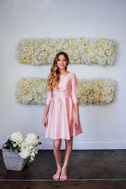 fit and flare dress nutcracker dress light pink from the bridesmaid collection by