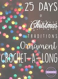 25 days of traditions ornament cal sewrella